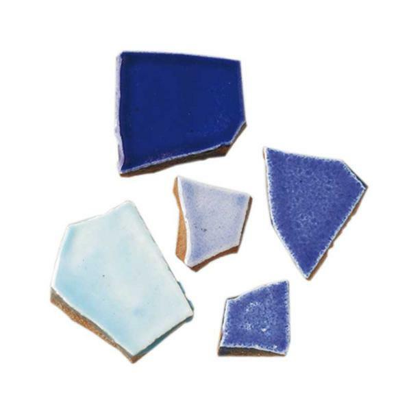 Mosaïque Céramique Bits - 1000 g, mélange bleu