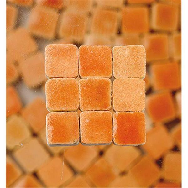 Mosaïques Mini - 10 g, orange pastel