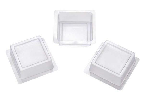 Seifengießform, Quadrat