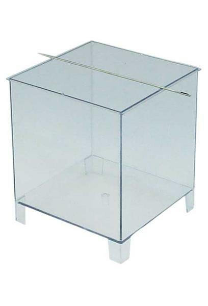 Kaarsengietvorm - 125 x 125 x 135 mm, vierkant
