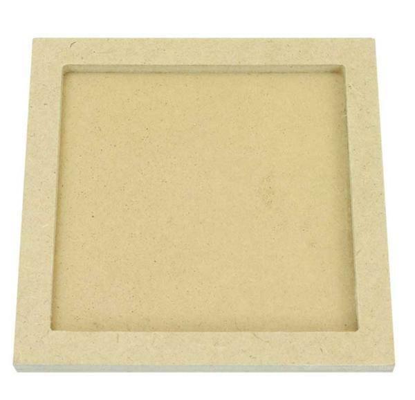 Support pour mosaïques - Carré, 110 x 110 mm