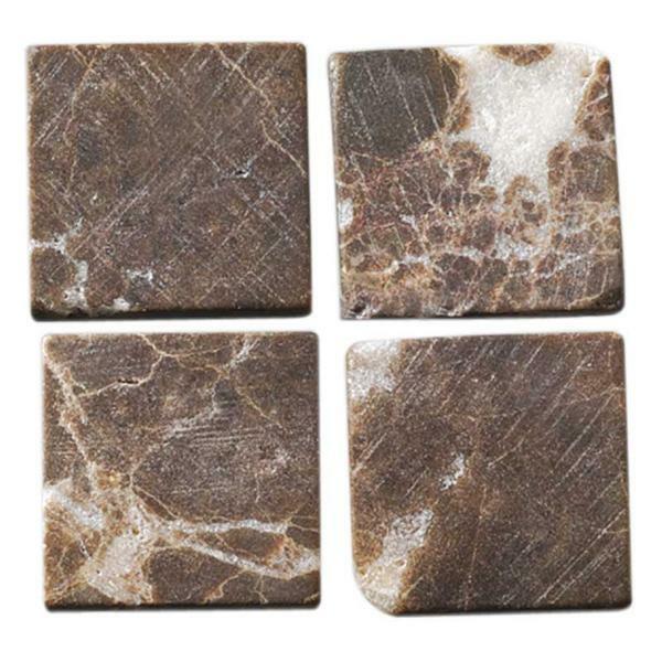 Mosaik Natursteine - 200 g, braun