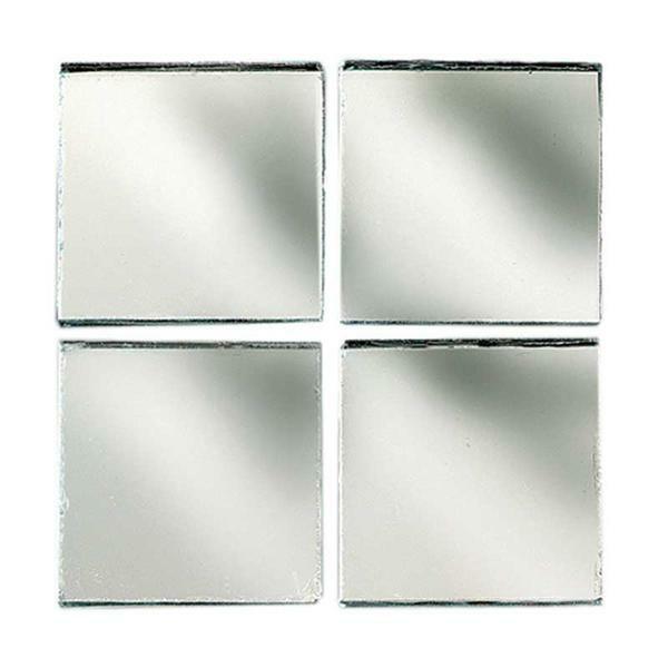Mosaïques miroir - 200 g, 10 x 10 mm
