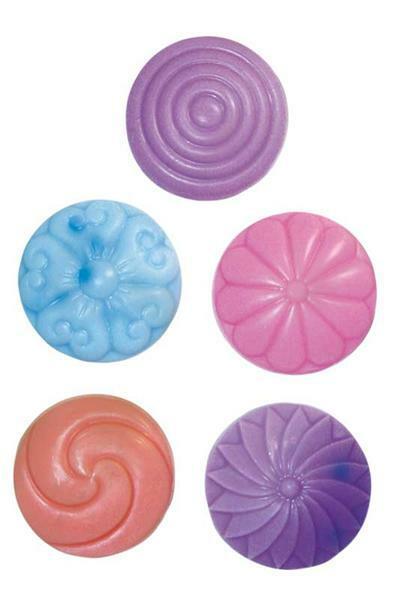 Moules à savon, décors ronds