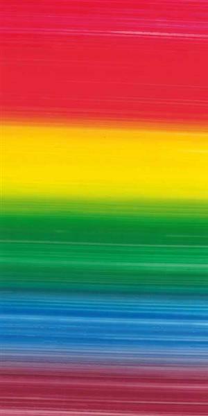 Verzierwachsplatte, Regenbogen