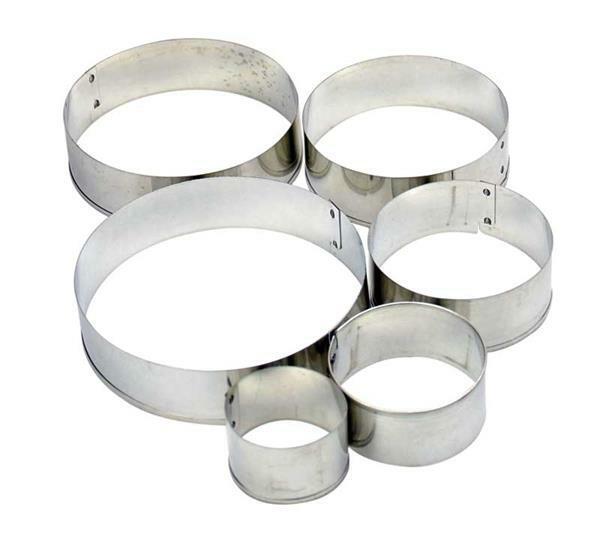 Uitsteekvormpjes - cirkels, 7-delig