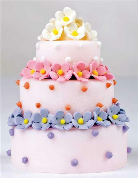 Moule silicone, Gâteau à 3 étages