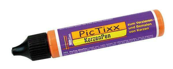 Pic Tixx Bougies - 29 ml, orange