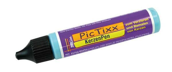 PicTixx Kerzenpen - 29 ml, hellblau