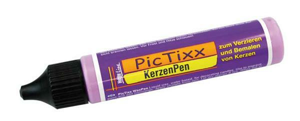 PicTixx Kerzenpen - 29 ml, violett