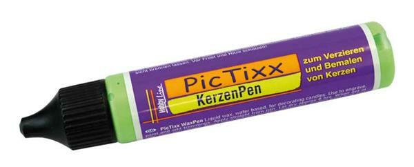 PicTixx Kerzenpen - 29 ml, hellgrün