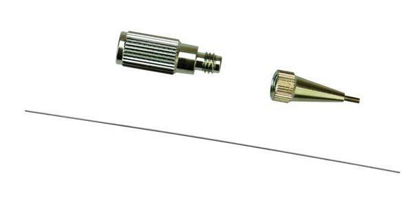 Pic Tixx metalen-mondstuk fijn, met adapter