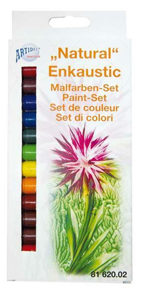 Encaustic Malfarben Set, Natural