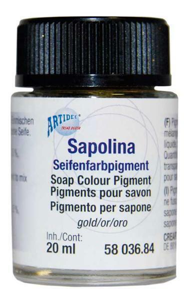 Seifenpigmente - 20 ml, silber