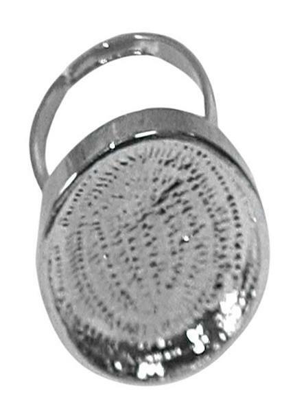 Kaltglasur - Schmuckrohlinge, Ring oval