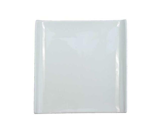 Porzellan - Teller, 14 x 14 cm