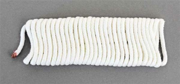 Ronde pit voor kaarsengietvormen - Ø 2 mm, 3 m