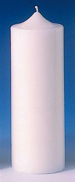 Moule à bougies - Ø 70 x 185 mm, cylindre à pointe