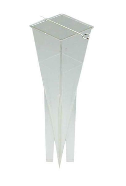 Kerzengießform - 60 x 60 x 228 mm, Pyramide