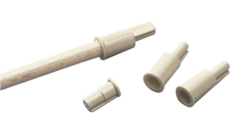 Adapters voor ronde staaf, Ø 4,5 mm