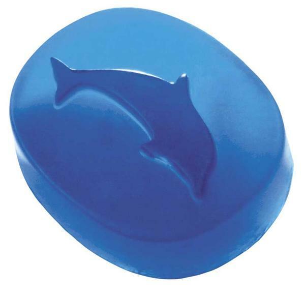 Moules à savon - 105 g et 90 g, éléphant/dauphin