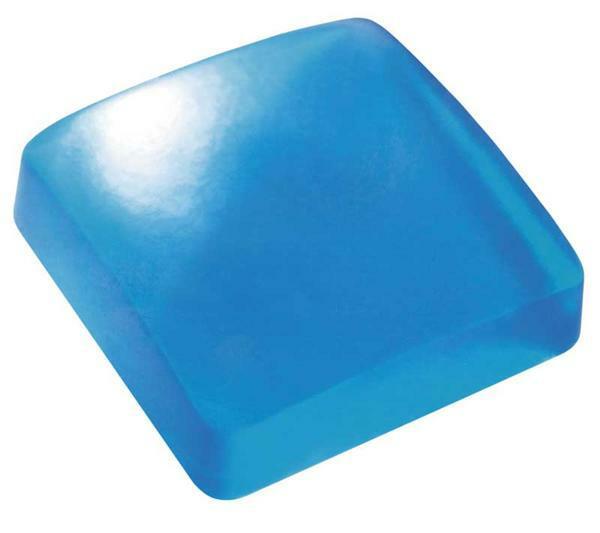 Moules à savon - 95 g et 110 g, ovale / carré