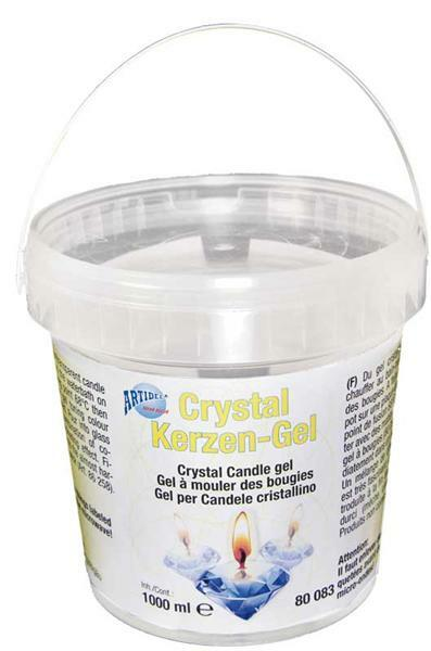 Crystal kaarsen-gel - helder, 1000 ml