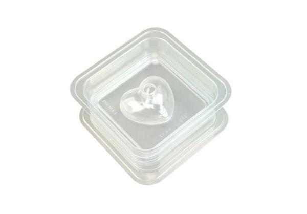 Seifengießform - 2-teilig, 125 g, Herz