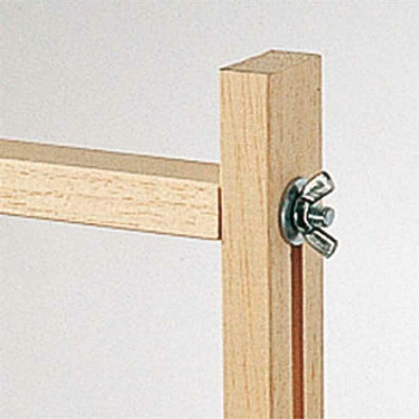 Cadre de tension pour soie - 100 x 100 cm