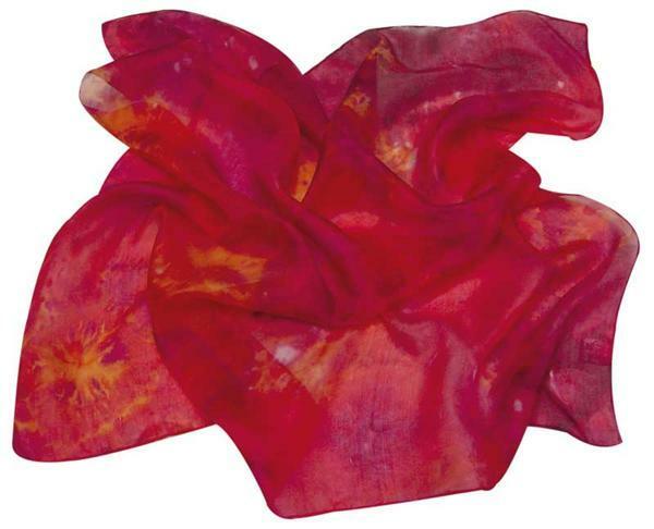 Seidentücher Pongé, 28 x 28 cm
