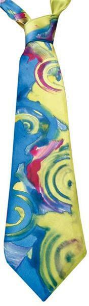 Seiden Krawatten Pongé, 9,5 x 142 cm