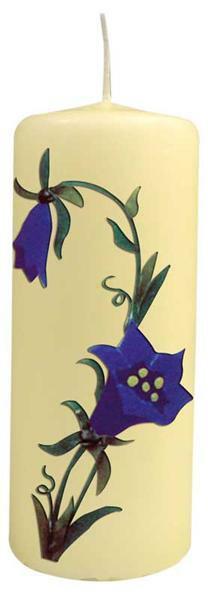 Stumpenkerze - 200 x 70 mm, elfenbein