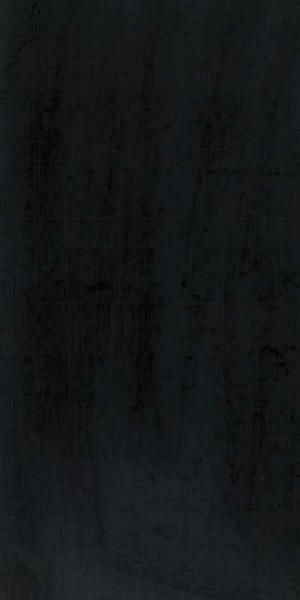 Verzierwachsplatte, schwarz