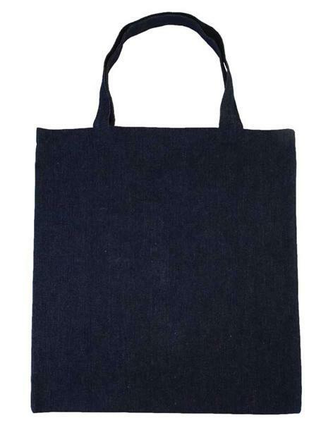Einkaufstasche - Jeans, ca. 38 x 43 cm