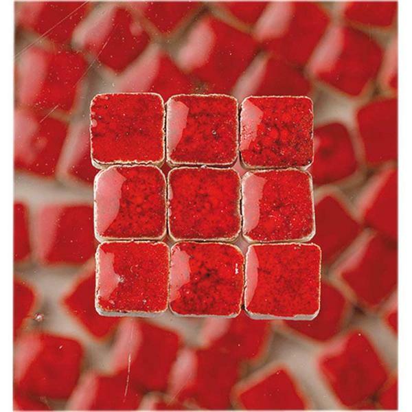 Mosaïques Mini - 10 g, rouge rubis