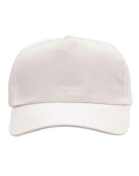 Casquette baseball - Adulte, blanc