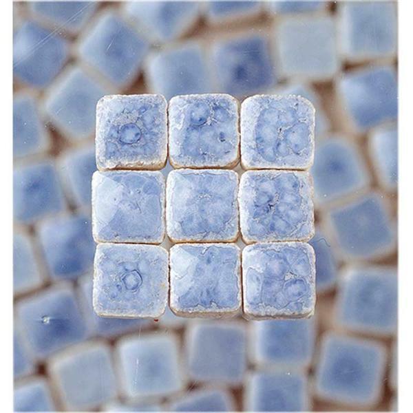 Mozaïek mini - 10 g, lichtblauw
