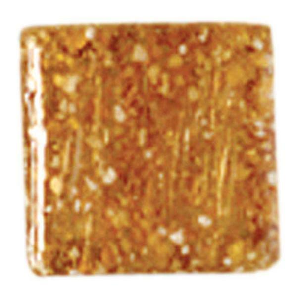 Mosaik Glassteine - 200 g, schokobraun