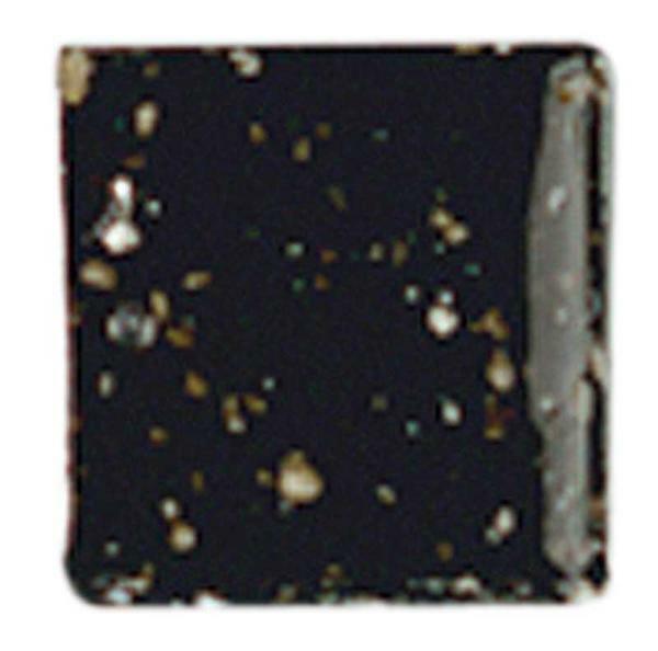 Mosaik Glassteine - 200 g, schwarz