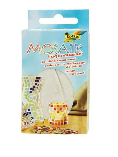 Mosaik Fugenmasse - 250 g, weiß