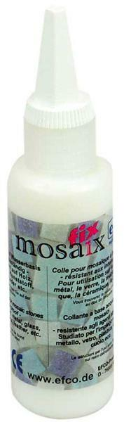 Mosaikkleber - transparent, 50 ml