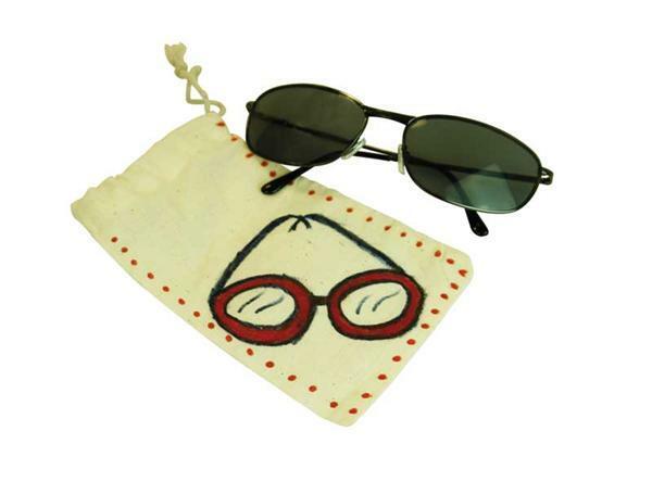 Brillen-Etui, ca. 18 x 9,5 cm