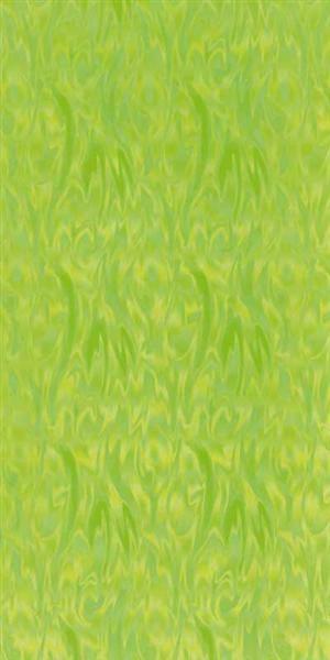 Versierwasplaat - golvend iriserend, lichtgroen