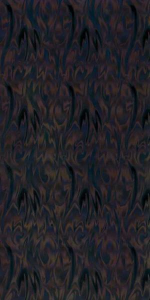 Versierwasplaat - golvend iriserend, zwart