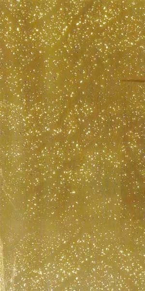 Versierwasplaat - klodders, goud