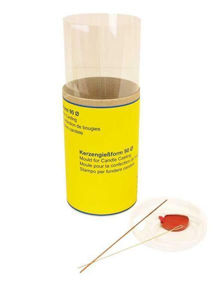Moule à bougies - Ø 90 mm, 140 mm, cylindre