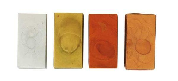 Encaustic Malfarben Set, metallic