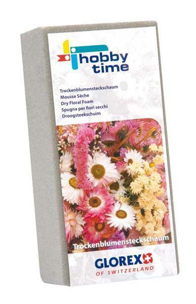 Steekschuim 23 x 11 x 7,5 cm, gedroogde bloemen