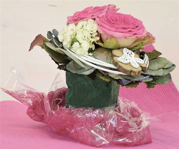 Steckschaum - 23 x 11 x 7,5 cm, Frischblumen
