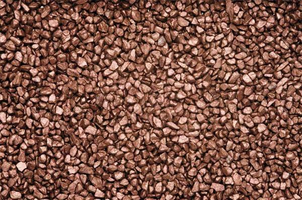 Gravier décoratif - 500 g, brun